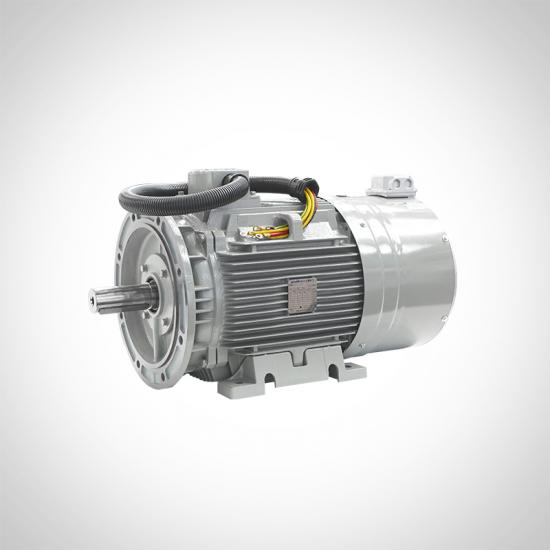 PM AC Motors For Compressors IE4 IE5 3 Phase Permanent Magnet Motor
